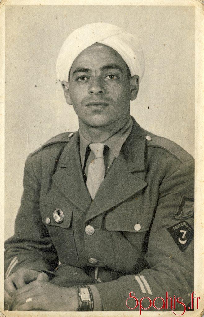 Brigadier indigène du 7e RSA