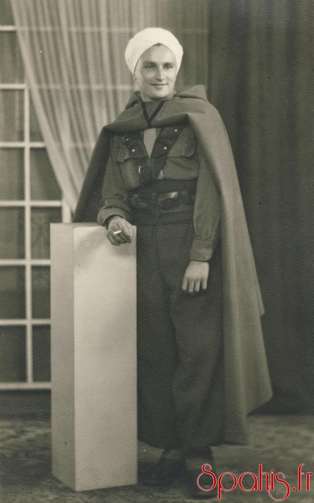 Spahi du 7e RSA, Campagne 1944-1945.