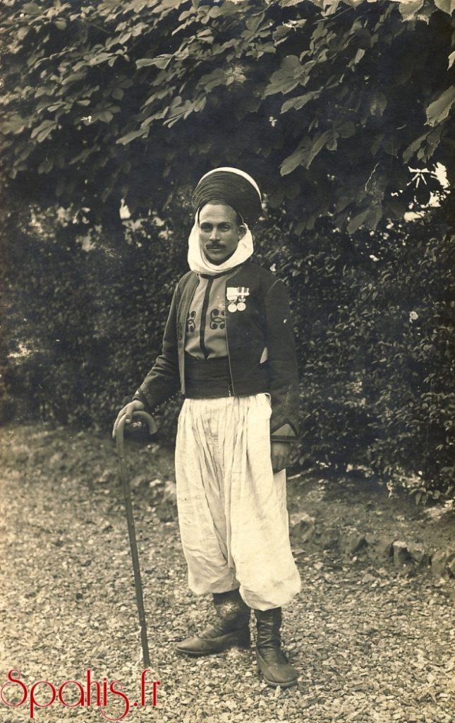 spahi de 1ere classe du 2e régiment de spahis