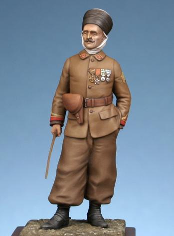 Maréchal des logis du 1er Régiment de Spahis Algériens