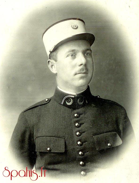 Sous-officier du 12e RST vers 1925
