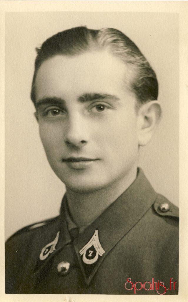 Sous- officier du 7e RSA, Campagne 1944-1945