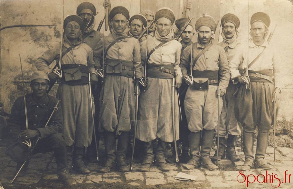 Spahis-1915 - Photo Régiment de Marche de Spahis, 1915