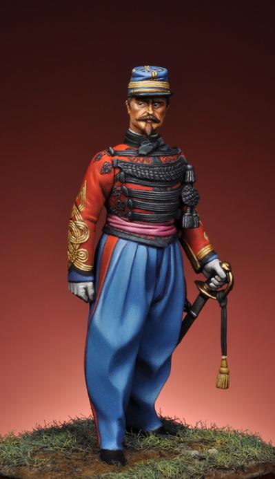 Capitaine de spahis Second Empire