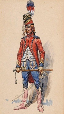 Brigadier - Trompette du 9e Hussards Benigni_Réduite